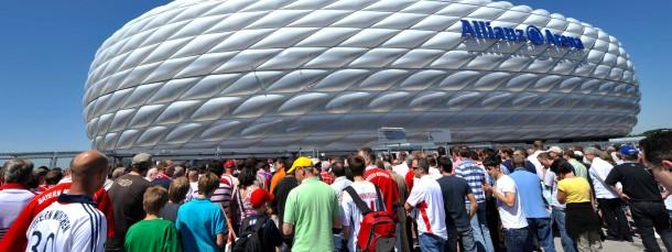 Viermal Spielort 2020: Die Münchner Allianz-Arena