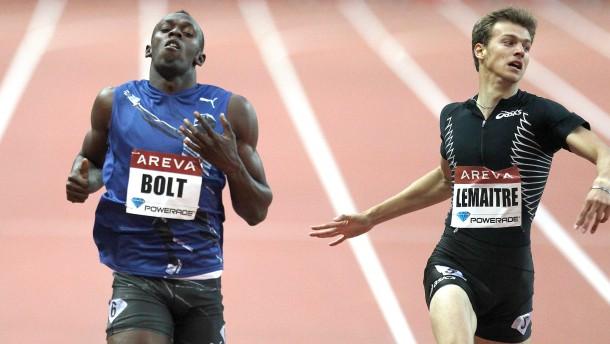 Bolt, Obergföll und Harting siegen in Paris