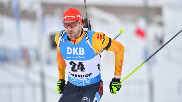 Arnd Peiffer sprintet in Oberhof auf Platz drei