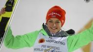 """""""Es ist unglaublich"""": Carina Vogt holt wieder WM-Gold."""