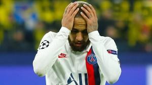Neymar kritisiert Paris-Trainer Tuchel
