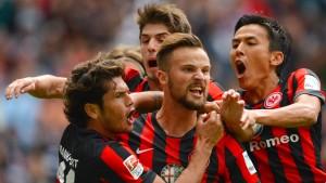 Eintracht Frankfurt spielt ohne Meier
