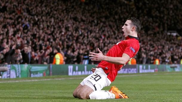 Manchester United rettet sich ins Viertelfinale