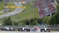Immer weniger Faszination: Die Formel 1 kriselt auch am kommenden Wochenende in Spielberg