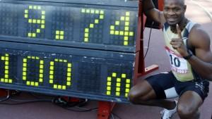 Asafa Powells Fern-Revanche mit Weltrekord