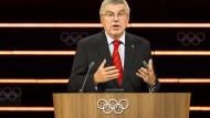 Auf dem Gipfel seiner Macht: IOC-Präsident Thomas Bach.