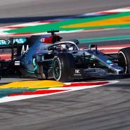 Formel 1-Tests in Barcelona: Mercedes hat einen neuen Trick an Bord.