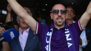 Florenz empfängt Ribéry wie einen König