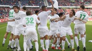 Wolfsburg meisterlich - Bayern gebremst