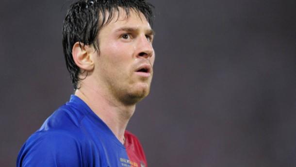 Wetten, dass Messi Rot sieht?