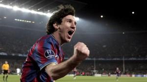 Messi ist zu schnell für Stuttgart