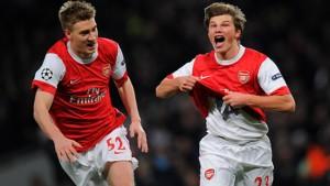 Arsenal genügen zwei geniale Momente