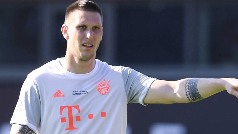Wieder auf dem Rasen beim FC Bayern: Niklas Süle