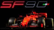 Der neue Rennwagen: Mit diesem Gefährt will Ferrari in der Formel 1 um den Titel mitfahren.