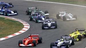 McLaren-Mercedes schenkt Schumi den Sieg