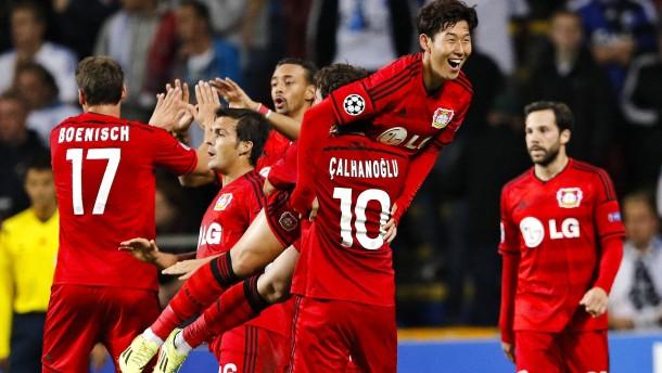 Leverkusen gewinnt Kopenhagen-Krimi