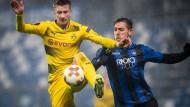 Gegen Bergamo zog der BVB ins Achtelfinale ein. Nun wartet ein neuer Gegner.