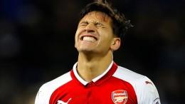 Ärger bei Arsenal nach spätem Elfmeter