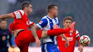 Schlimmer Rückschlag für Hertha