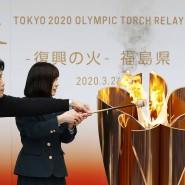 Flamme der Hoffnung: Das olympische Feuer wird weiter brennen.