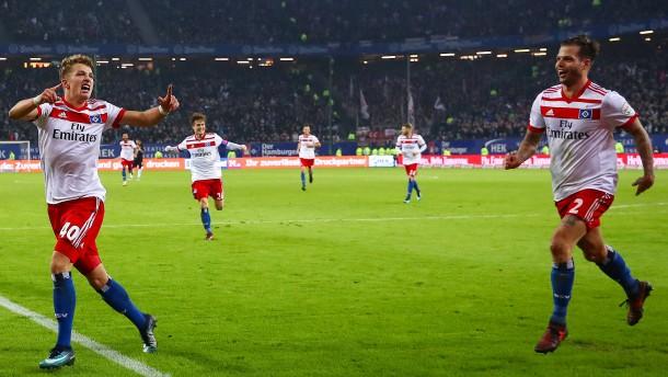 Hamburger Sieg auf dem Silbertablett serviert