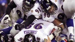 Die Ravens gewinnen den D(efense)-Day