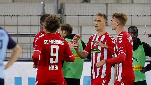 """""""Joker"""" Petersen stoppt die Borussia"""