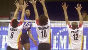Deutsche Volleyballer auf Bildungsreise
