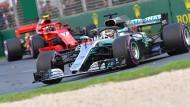 Nur Ferrari hält mit: Mercedes hat den stärksten Motor