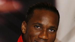 Didier Drogbas rote Schnürsenkel