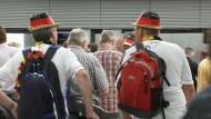 Deutschland-Fans fliegen nach Brasilien