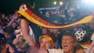 Deutsche Fans im Wechselbad der Gefühle