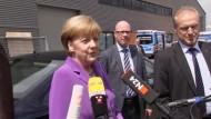 Kanzlerin Merkel wünscht DFB-Team viel Glück fürs Finale
