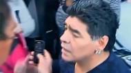 Diego Maradona rastet aus