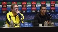 Dortmund-Trainer Klopp zollt Arsenal Respekt