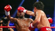 Mayweather gewinnt gegen Pacquiao