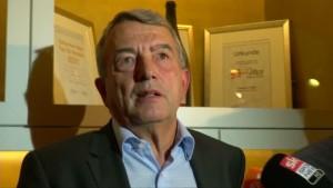 DFB-Präsident Niersbach äußert sich zur Fifa-Krise
