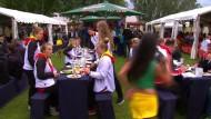 Deutsche Olympioniken präsentieren sich in Kienbaum