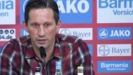 Leverkusen-Trainer Roger Schmidt unter Druck
