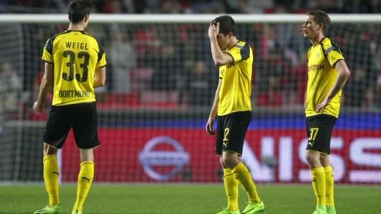 Dortmund verliert in Lissabon