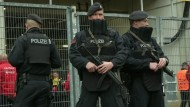 Polizei zeigt Präsenz vor BVB-Spiel