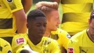 BVB-Mannschaftsfoto mit Dembele