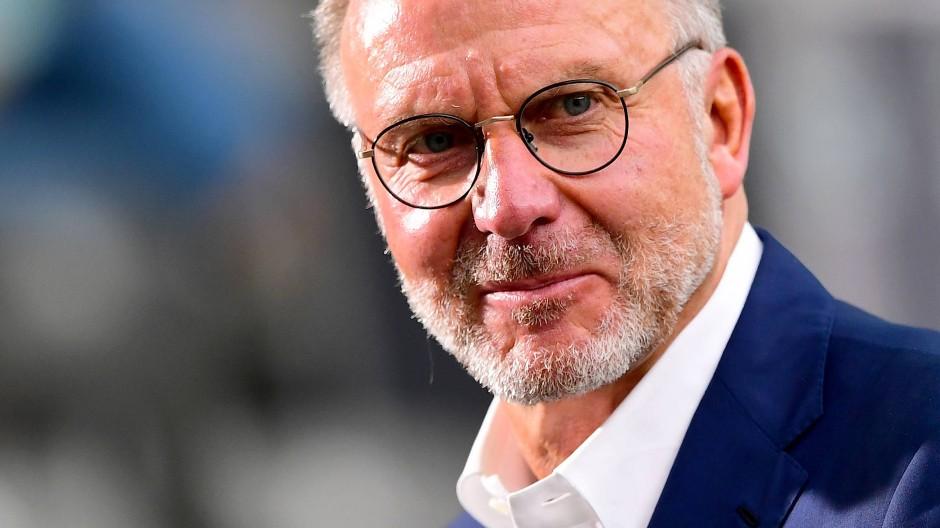 Klare Wort in Richtung des DFB: Karl-Heinz Rummenigge