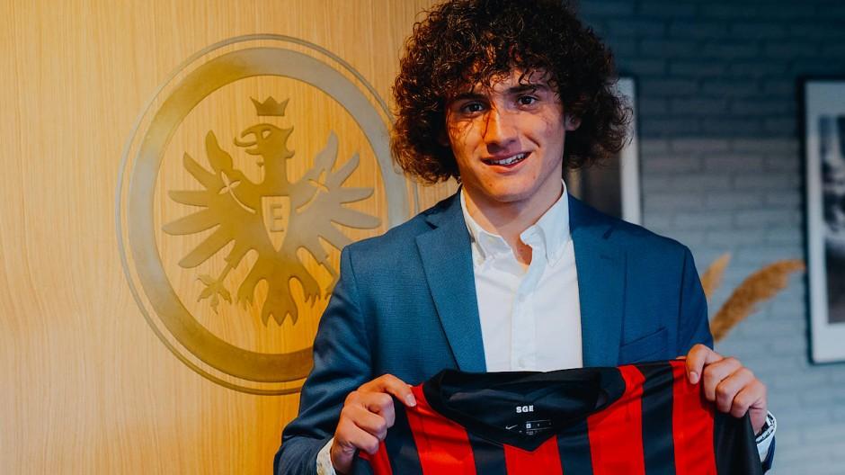 Ab Sommer bei Eintracht Frankfurt: Fabio Blanco Gómez kommt aus Spanien.