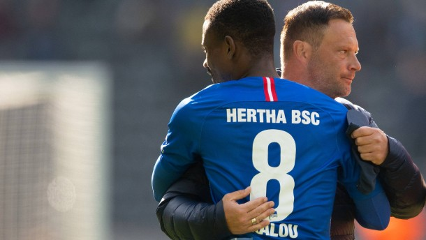 Kalou macht Hertha froh