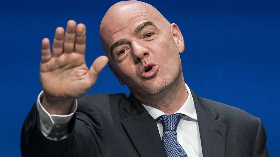 FIFA-Präsident Gianni Infantino hat schon wieder neue Pläne.