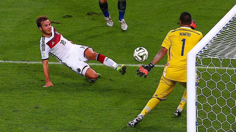Mario Götze entschied das WM-Finale 2014 – in Russland fehlt er im Kader.