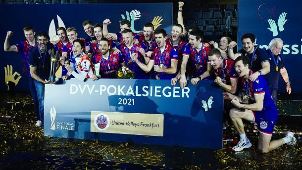 United Volleys gewinnen ersten Titel der Vereinsgeschichte