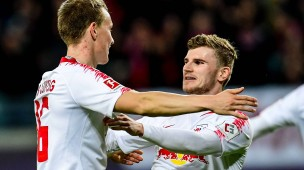 Nur einer darf zur Nationalmannschaft: Timo Werner würde Lukas Klostermann (links) vermutlich gerne mitnehmen.