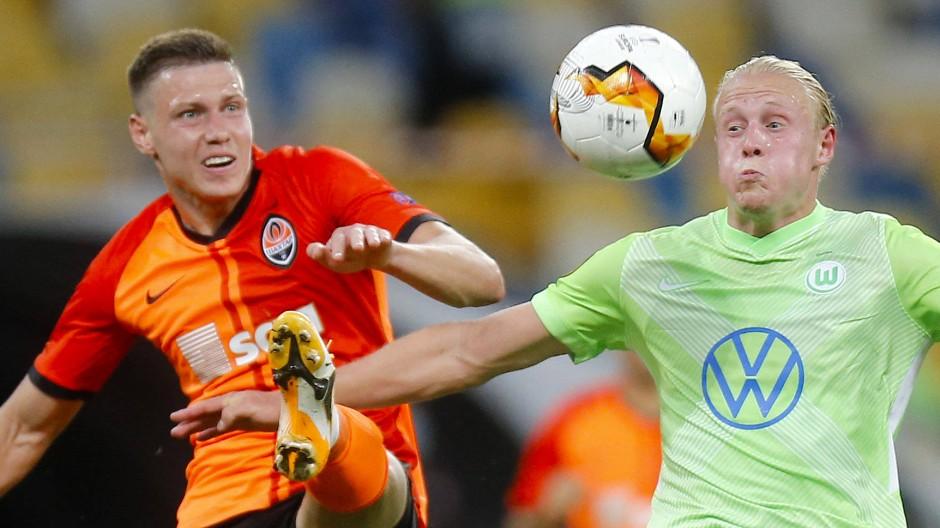 Wolfsburg verliert auch das zweite Duell mit Schachtar Donezk.